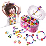 Pop Beads, Jewelry Making Kit - Arts and Crafts for Girls Age 3, 4, 5, 6, 7 Year Old Kids Toys - Hairband Necklace…