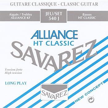 savarez strings 540j high tension nylon classical guitar strings musical instruments. Black Bedroom Furniture Sets. Home Design Ideas