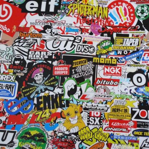 Free Tool Kit LION JDM Bomber Racing Graffiti Brand Car Auto Laptop Vinyl Wrap Sticker Decal Film Sheet - 60''X600'' by JDMBESTBOY (Image #6)