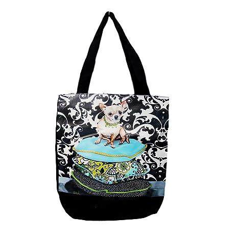 Amazon.com: Lindo perro Chihuahua, bolsa de transporte ...