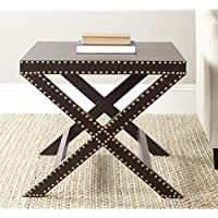 Safavieh Home Collection Jeanine Charcoal X End Table