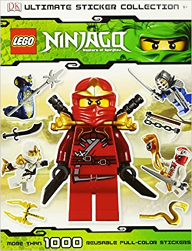 Ultimate Sticker Collection: LEGO NINJAGO Ultimate Sticker ...