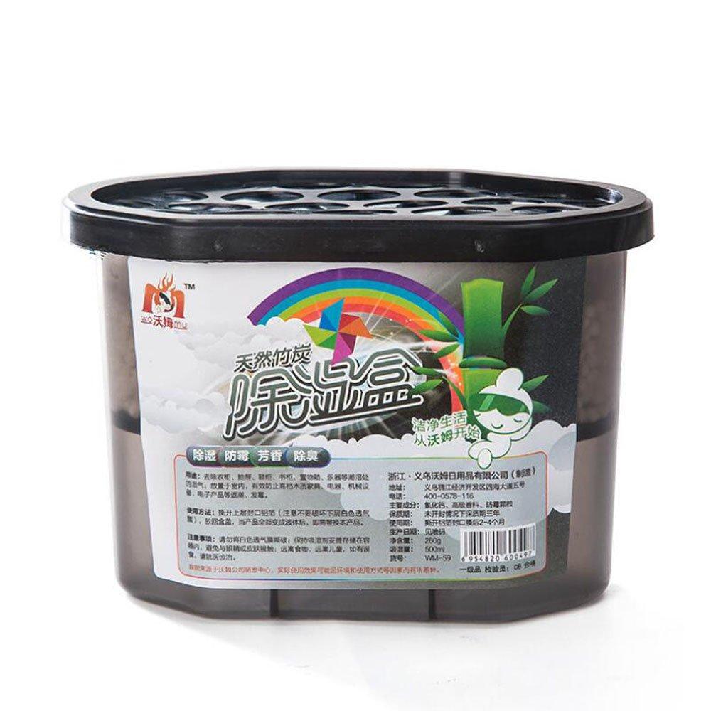 Lezed Indoor di deumidificazione essiccante, deumidificazione box, Deodorante di aria portatile,originale ecologico deumidificazione del carbone di bambù naturale anti-muffa aroma deodorante agente