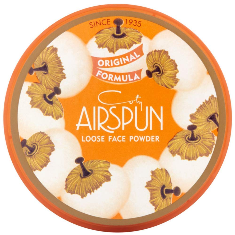 Coty AirSpun Loose Face Powder 070-24 Translucent, 2.3 oz (Pack of 2) COTY USA INC.