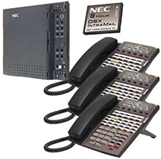 amazon com nec 1090020 dsx 22 button display telephone black rh amazon com nec model dsx 34b bl manual NEC Model DSX 34B