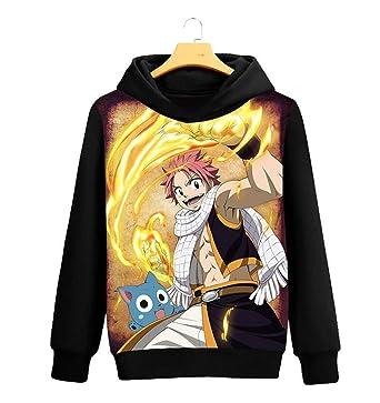 Amazon Com Go2cosy Anime Fairy Tail Cosplay Natsu Dragneel Jacket