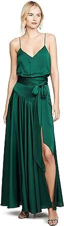 Fame and Partners Women's Blouson Tie Waist Dress