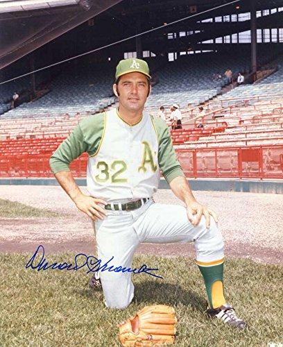 Darold Knowles Autographed/ Original Signed Color 8x10 Photo w/ the 1970s Oakland Athletics - Louis Cardinals Original 8x10 Photo