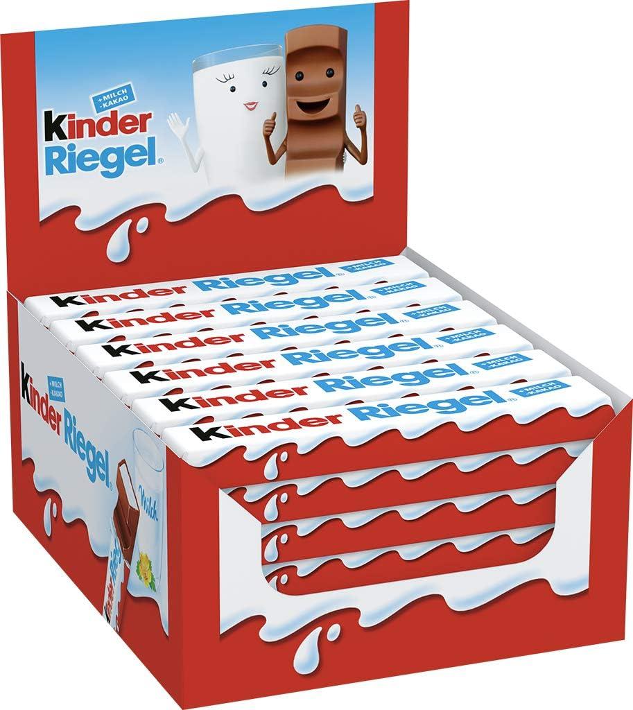 Kinder Chocolate Medium Bar (Box of 36 Bars) 29% OFF £8.20 @ Amazon