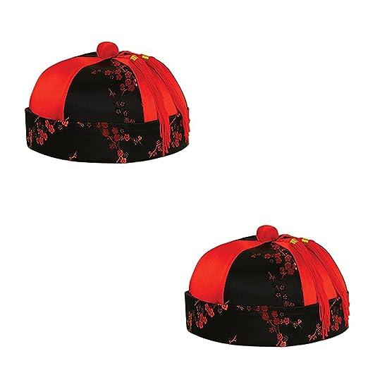 Amazon.com  Beistle Mandarin Hat (Pack of 1)  Clothing 54f98bd32508