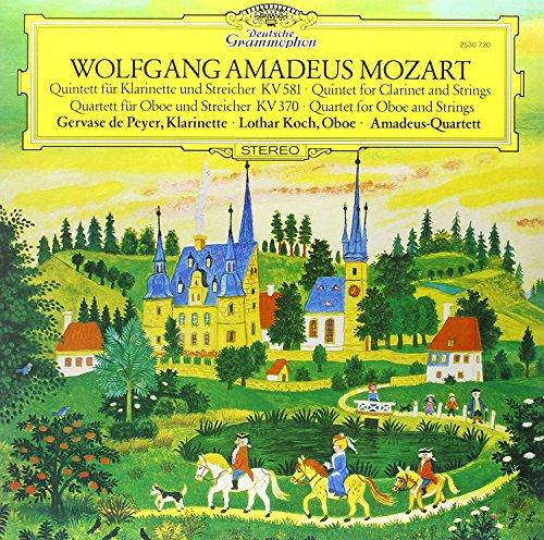 (Mozart: Clarinet Quintet, Oboe Quartet [LP])