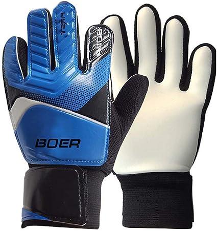 Find-In-Find Size 5-7 Kids /& Youth Soccer Goalkeeper Goalie Gloves Indoor /& Outdoor Goalie Gloves for Girls Boys