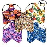 Silkie / Junior Hen Size Chicken Saddles Hen Aprons Set of (5) Grab Bag Patterns Vary