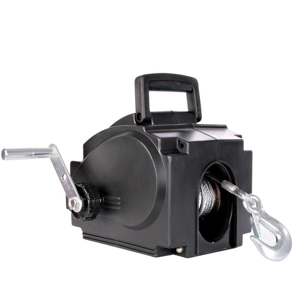 Cabrestante Electrico 12V Carga Máximo 2267KG Cabestrante Con Cable Acero: Amazon.es: Coche y moto
