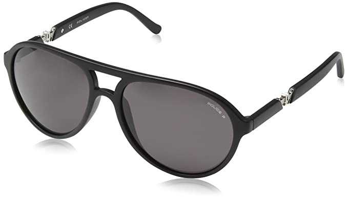 5679f69e975 Image Unavailable. Image not available for. Colour  Police Sunglasses S1798  Drift 2 703P Acetate Mat Black Grey polarized