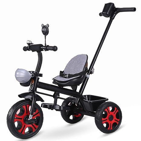 &Carrito de bebé Bicicleta de triciclo para niños Rueda de espuma para carro para niños de