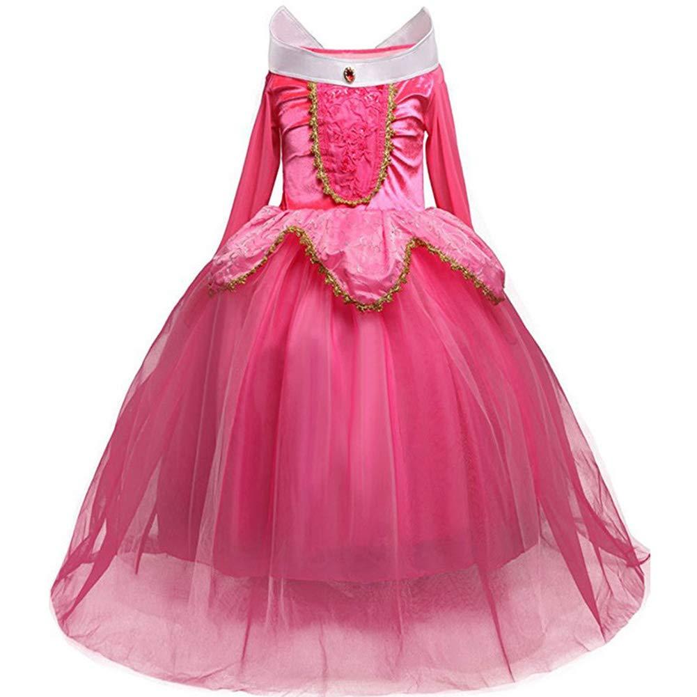 ファンシードレス、女児用プリンセス ベルコスチューム プリンセス ドレスアップハロウィンコスチュームドレス 4~9歳用 (2#、5歳)   B07GSVDP9K
