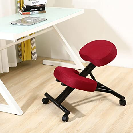 Amazon.com: JZGY Silla ergonómica para rodillas, silla de ...