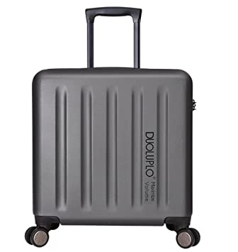 PINCHU Maletas para Cabina piloto Laptop con Ruedas Business Trolley Maletin informático Carry On Roller Cases, Gray: Amazon.es: Deportes y aire libre