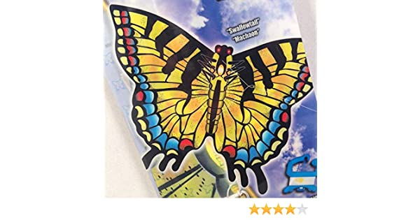 Line X-Kites 27 Swallowtail Butterfly Nylon Kite with Handle QuikClip /& SkyTails Included SG/_B01HP2LRR0/_US