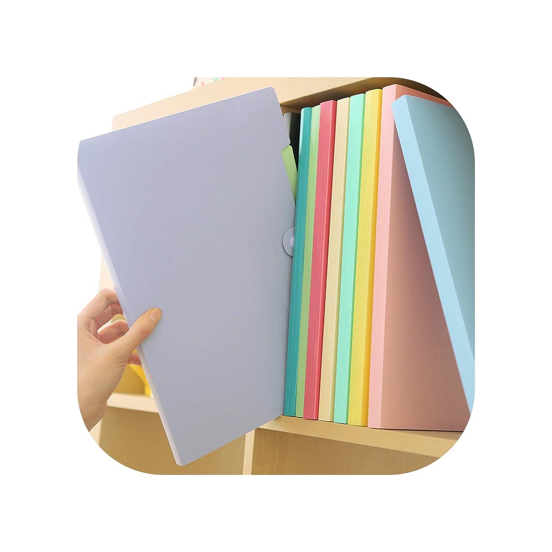 Amazon.com : 10 Color A4 Carpetas Smile Waterproof File ...