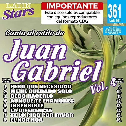 (Karaoke Latin Stars 361 Juan Gabriel Vol. 4)