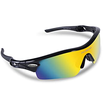sports sunglasses with interchangeable lenses  Amazon.com: RIVBOS 805 POLARIZED Sports Sunglasses with 5 Set ...