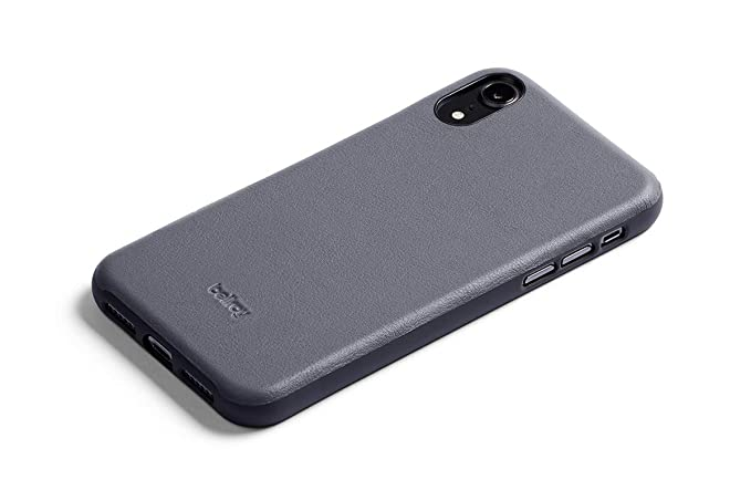 sports shoes 8914c cacc9 Amazon.com: Bellroy Leather iPhone Xs Max Phone Case - Graphite ...