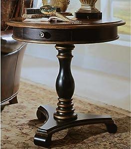 Hooker Furniture Preston Ridge Pedestal Accent Table