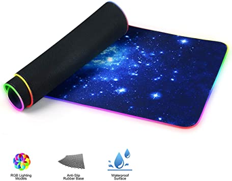 """Large Mat 31.5/""""x11.8/"""" Gaming Mousepad Non-Slip Rubber Extended Mouse Pad XXL"""