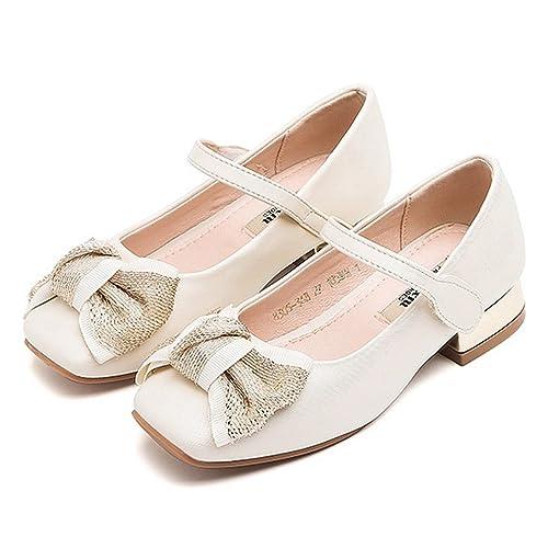Amazon.com   CYBLING Girls Bridal Ballet Flats Mary Jane Dress Shoes ...