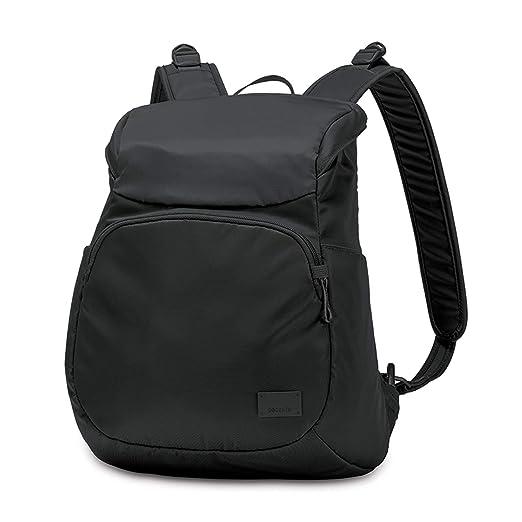 PacSafe Citysafe CS300 Anti-Theft Compact Backpack Mochila Tipo Casual, 35 cm, 14,9 Liters, Negro (Black 100): Amazon.es: Equipaje