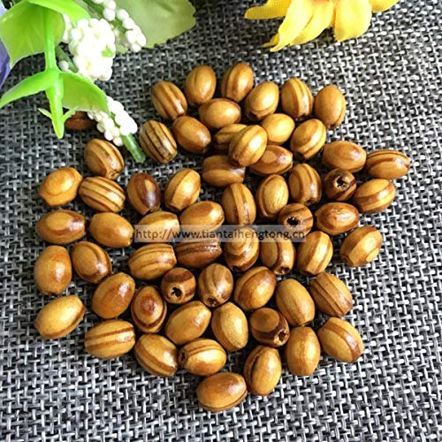 - Calvas 1000pcs/pack 86mm Brown Faux Olive Wood Beads, Pinewood Rosary Bead, Wooden Accessory