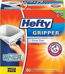 Hefty Gripper Tall Kitchen Trash Bags - ...