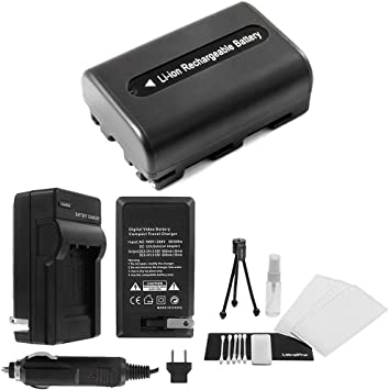 para Sony CyberShot dsc-t200//dsc-t300 con micro USB Plug Rápido-cargador