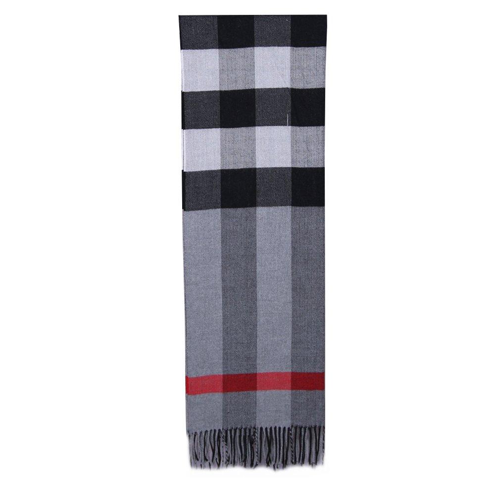 CDM product 5Dreams Women Tartan Scarf Stole Plaid Cashmere Feel Winter Scarves Wraps Shawl big image
