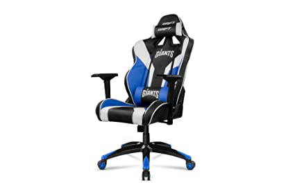 Drift DRGIANTS - Silla gaming, color negro, azul y blanco
