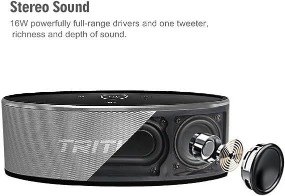 TRITINA Bluetooth Speaker Altavoz Inalámbrico Sonido Estéreo ...