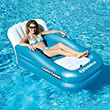Eclipse Collection Oversized Cooler Couch Floating Lounger (5' 4''L x 3' 4''W x 33''H)