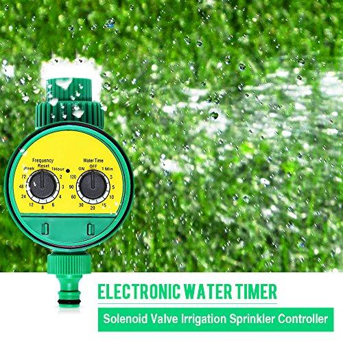 Drip Irrigation Sprinkler Timer – Quality Electronic Water Timer Garden Solenoid Valve Irrigation Timer Sprinkler Controller For Electronic Sprinkler System – Hose Timer