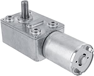 High Torque Turbo Geared Motor Gearbox DC 12V Motor 2/3/5/6/10/20/30/40/62/100RPM (2 RPM)