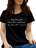 My Thoughts have been replaced by Hamilton Lyrics by LeRage Shirts WOMEN'S