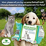 BeMedFree.com Ultimate Essential Mineral Supplement - Just Add To Water To Supply 70 Natural Elements To Dogs And Cats - 8 Fl. Oz.