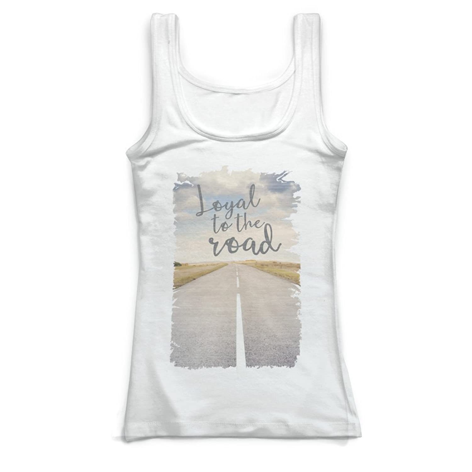 Gone For a Run Running Vintage Fitted Tank Top - Loyal To The Road