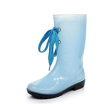 FRF Stivali da Pioggia Stivali Impermeabili da Pioggia