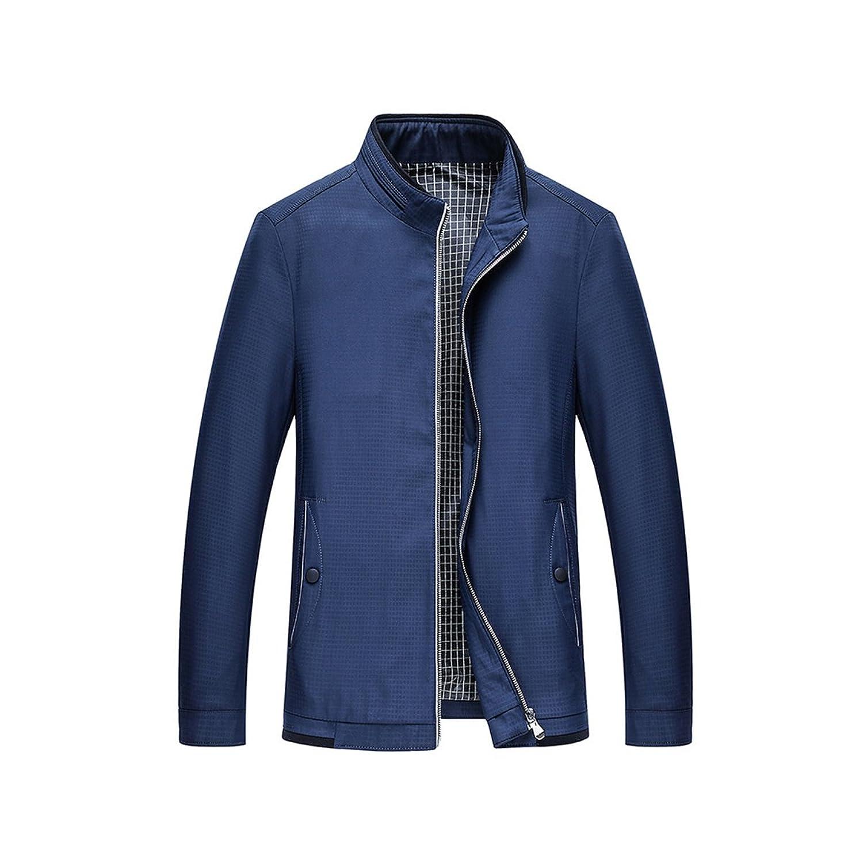 Men's Stylish Slim Single Breasted Blazer Jacket Two Front Pocket Outwear