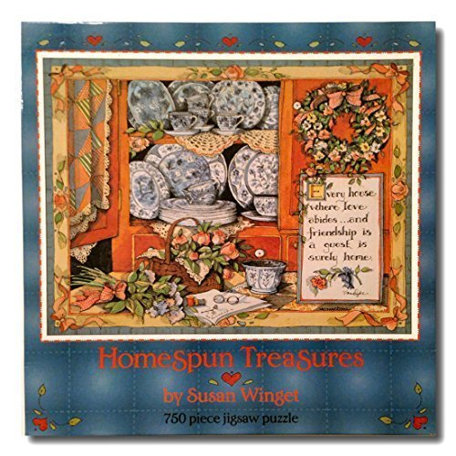 Homespun Treasures Susan Winget Puzzle by Playtoy Industries