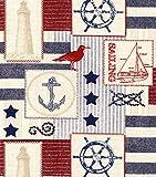 Nautical Americana Table Runner (Various Sizes)