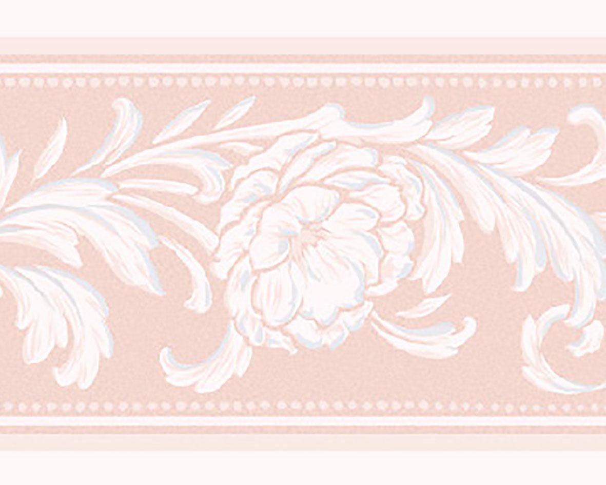 リリカラ トリムボーダー46本 エレガンス 花柄 ピンク  LW-2863 B07614FDGG 46本|ピンク