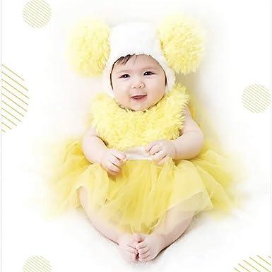b8564699a Amazon.com  Wow Lovely Baby Girls  Yellow Chick Tutu Dress Costume ...